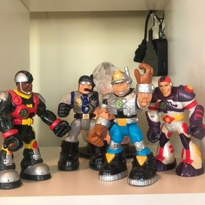 Rescue Hero's Lot Of 4